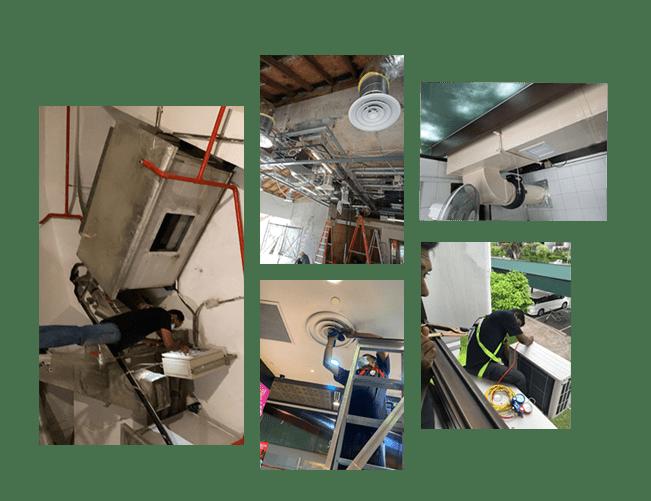 Kitchen exhaust ventilation